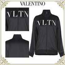 VALENTINO Long Sleeves Plain Home Party Ideas Hoodies & Sweatshirts