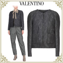 VALENTINO Flower Patterns Home Party Ideas Jackets