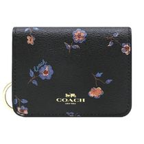Coach Flower Patterns PVC Clothing Card Holders
