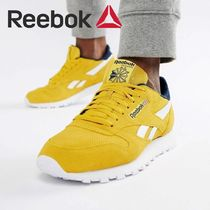 Reebok CLASSIC LEATHER Camouflage Suede Loafers & Slip-ons