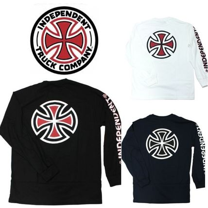 Unisex Street Style Long Sleeves Cotton Long