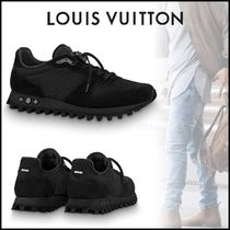 Louis Vuitton MONOGRAM Blended Fabrics Street Style Bi-color Plain Sneakers