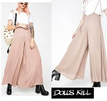 DOLLS KILL Wide Leg Pants