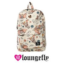 LOUNGE FLY Collaboration Leather Backpacks