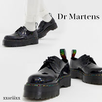 Dr Martens Blended Fabrics Plain Leather Home Party Ideas Oxfords
