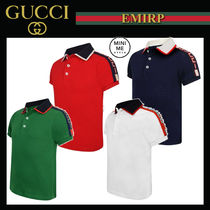 GUCCI Street Style Kids Boy Tops