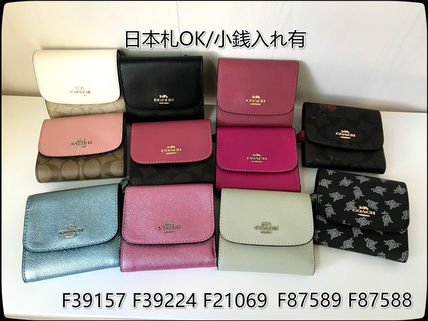 quality design 7ead9 4616e Coach 2019 SS Folding Wallets (F39157, F21069, F39224, F87588, F87589)
