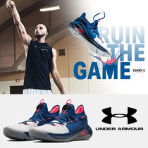 UNDER ARMOUR CURRY Street Style Collaboration Oversized Sneakers
