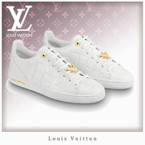 Louis Vuitton V Casual Style Unisex Street Style Leather Low-Top Sneakers
