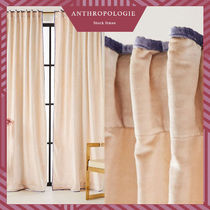 Anthropologie Unisex Blended Fabrics Curtains