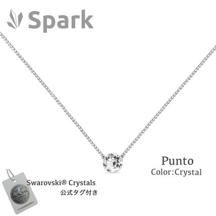 Spark Casual Style Silver Necklaces & Pendants