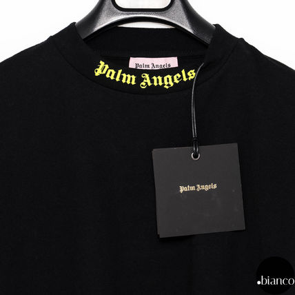 Palm Angels Long Sleeve Crew Neck Unisex Street Style Long Sleeves Cotton 4