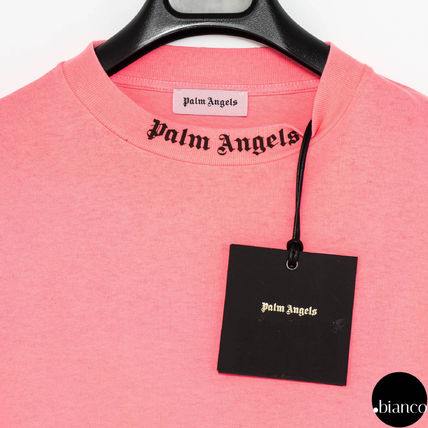 Palm Angels Long Sleeve Crew Neck Unisex Street Style Long Sleeves Cotton 8