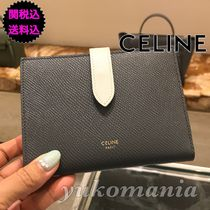 CELINE Belt Folding Wallets