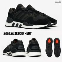 640cada95 adidas ZX Stripes Suede Blended Fabrics Street Style Sneakers