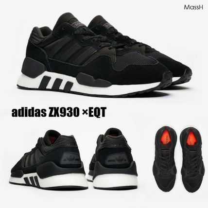 0cbdb7047fd ... adidas Sneakers Stripes Suede Blended Fabrics Street Style Sneakers ...