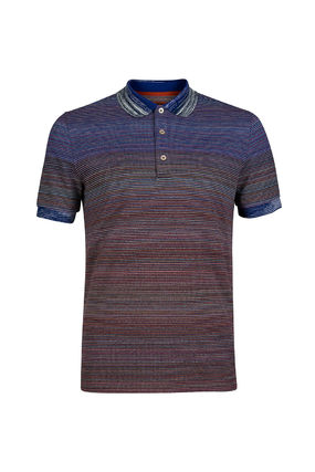 Stripes Cotton Short Sleeves Polos
