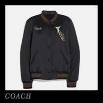 Coach Collaboration Plain Varsity Jackets