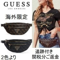Guess Other Check Patterns Casual Style Unisex Faux Fur