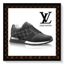 Louis Vuitton Other Check Patterns Blended Fabrics Sneakers