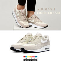 Nike AIR MAX 1 Casual Style Low-Top Sneakers