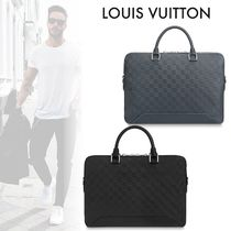 Louis Vuitton DAMIER INFINI Monogram Street Style Leather Business & Briefcases