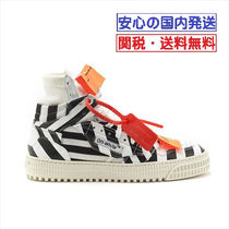 Off-White Street Style Low-Top Sneakers