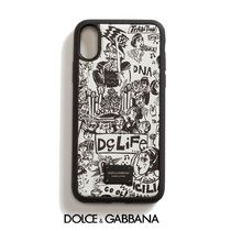 Dolce & Gabbana Street Style Leather Smart Phone Cases