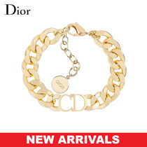 Christian Dior Bangles Blended Fabrics Chain Home Party Ideas Elegant Style