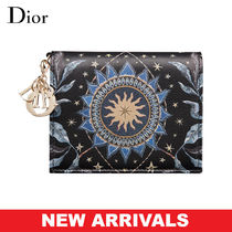 Christian Dior LADY DIOR Calfskin Blended Fabrics Street Style Home Party Ideas