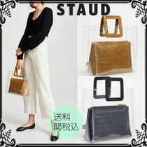 STAUD Casual Style Blended Fabrics A4 Other Animal Patterns