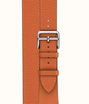 HERMES Unisex Collaboration Leather Elegant Style Watches