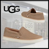 e71b36cf3877 UGG Australia Round Toe Casual Style Plain Leather Slip-On Shoes