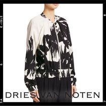 Dries Van Noten Flower Patterns Medium Varsity Jackets