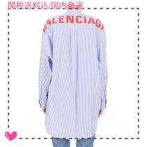 BALENCIAGA Stripes Shirts & Blouses