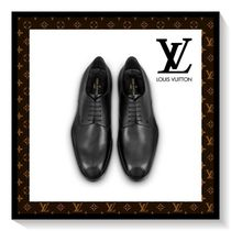 Louis Vuitton Plain Toe Plain Leather Loafers & Slip-ons