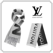 Louis Vuitton Cashmere Fringes Scarves