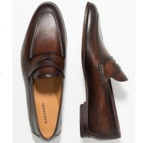 MAGNANNI Loafers Plain Leather U Tips Loafers & Slip-ons