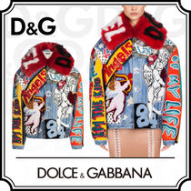 Dolce & Gabbana Star Denim Medium Elegant Style Jackets