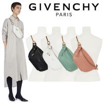 GIVENCHY 2WAY Plain Leather Shoulder Bags