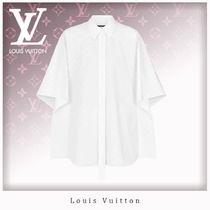 Louis Vuitton Monogram Long Sleeves Cotton Shirts & Blouses