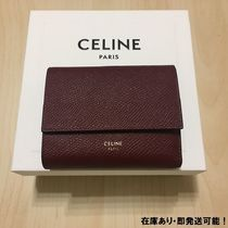 CELINE Tri Fold Folding Wallets