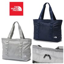 THE NORTH FACE Unisex Street Style A4 Plain Totes