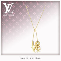 Louis Vuitton Casual Style Studded Chain Necklaces & Pendants