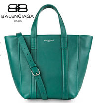 BALENCIAGA CABAS Leather Totes