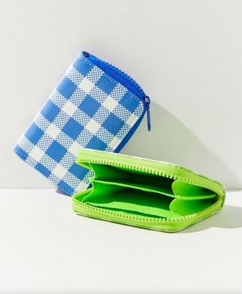 Gingham Other Check Patterns Coin Purses