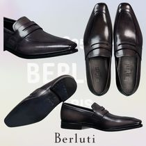 Berluti Loafers Plain Leather U Tips Loafers & Slip-ons