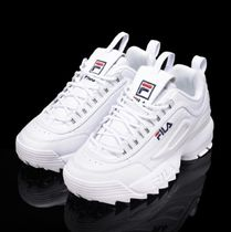 FILA Casual Style Unisex Low-Top Sneakers