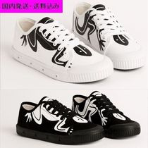 Agnes b Unisex Other Animal Patterns Sneakers