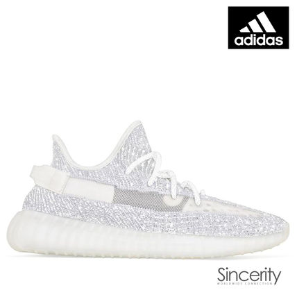 sports shoes 2c0c9 e28af adidas YEEZY 2018 Cruise Street Style Collaboration Plain Sneakers (EF2367)